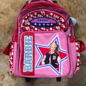 Barbie rolling bag